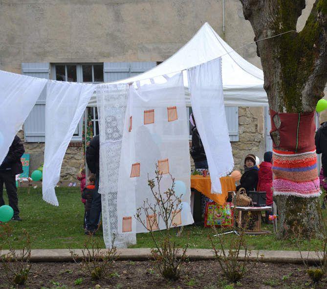 Festival Passion d'Avril &quot&#x3B;La poubelle enchantée&quot&#x3B; Les voiles