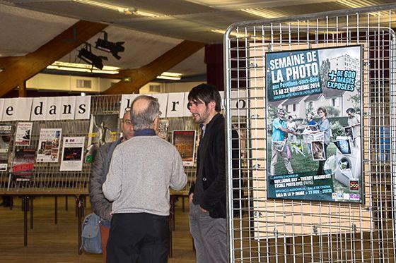 15/09/2014 : L'exposition la semaine de la photo aux Pavillons sous Bois, quelques minutes avant les premiers visiteurs