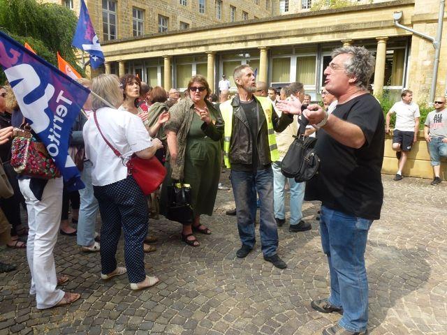 Conseil Départemental des Ardennes ... Les agents trés mobilisés contre la politique de Benoit Huré