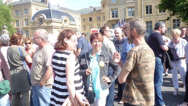 Conseil Départemental des Ardennes ...La mobilisation ne faiblit pas ... Huré joue l'absent