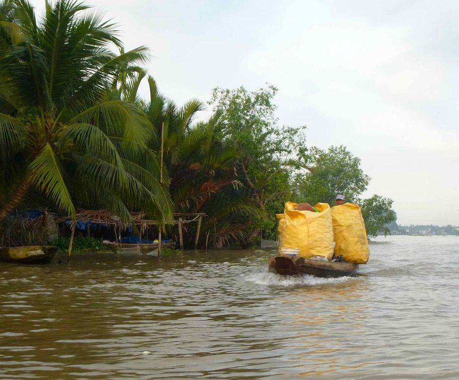 Au fil de l'eau, balade sur le Mékong