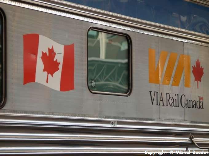 De VANCOUVER à QUEBEC en train puis Quebec, L'île d'Orléans, et région de RIMOUSKI...