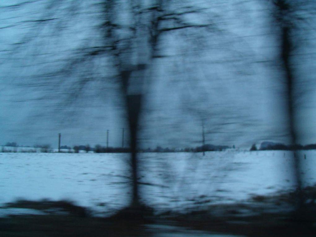 Paysages de neige.