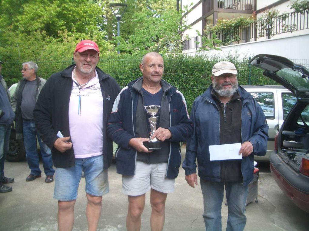 Résultats Concours de pêche du 23 Avril 2017