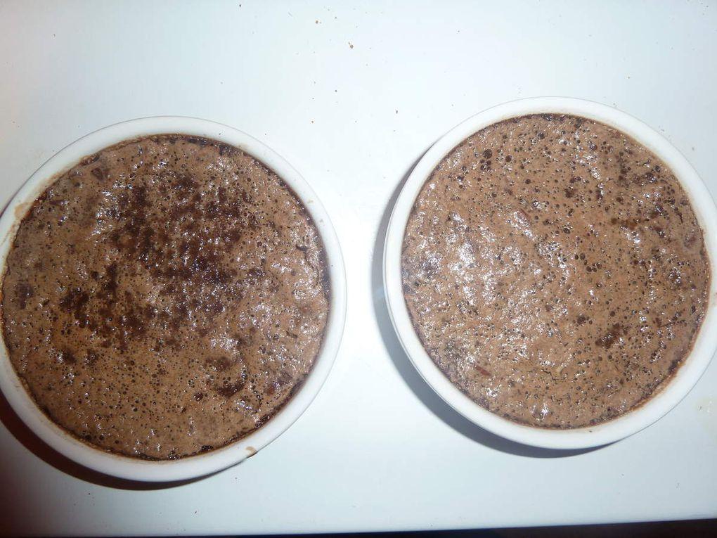 les différentes étapes de la caramélisation des crèmes brûlées