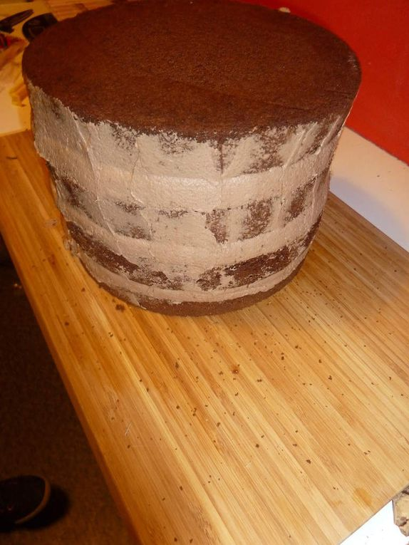 Layer cake au Kinder Bueno