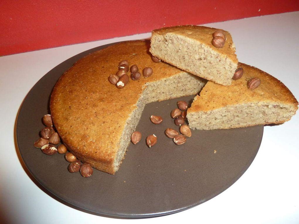 Le gâteau aux noisettes