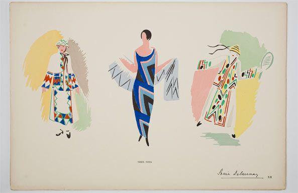 Rétrospective Sonia Delaunay -Musée d'art moderne de la ville de Paris
