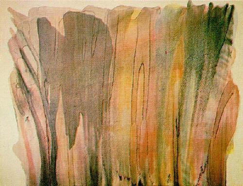 Sam Francis &amp&#x3B; Morris Louis deux figures de la peinture informelle.