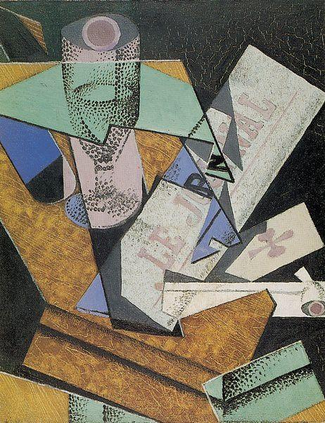 Juan Gris, le cubisme poétique .
