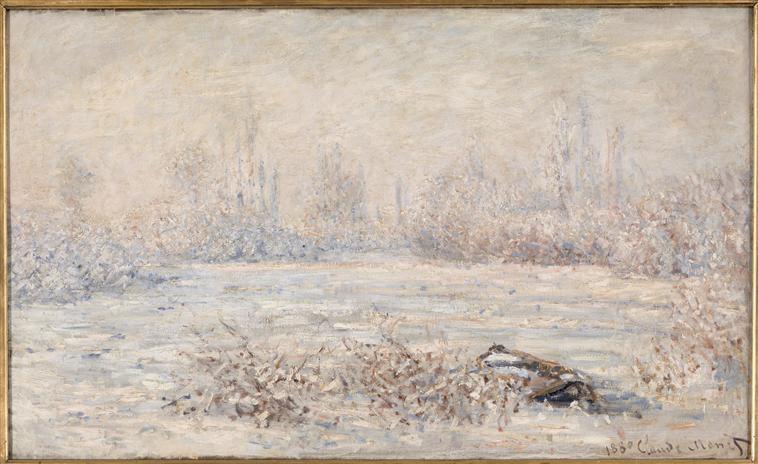 Claude Monet, peintre de l'insaisissable.