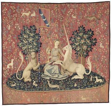 La dame à la licorne, histoire d'une tenture médiévale.