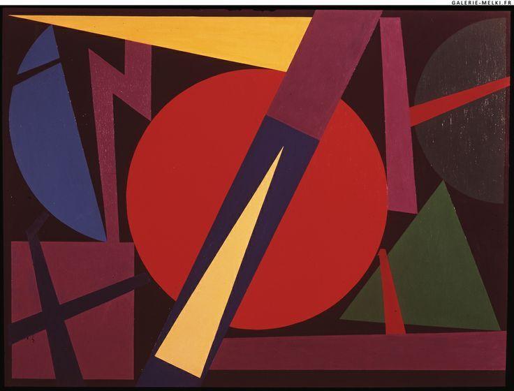 Auguste Herbin -L'alphabet plastique : une abstraction spirituelle.