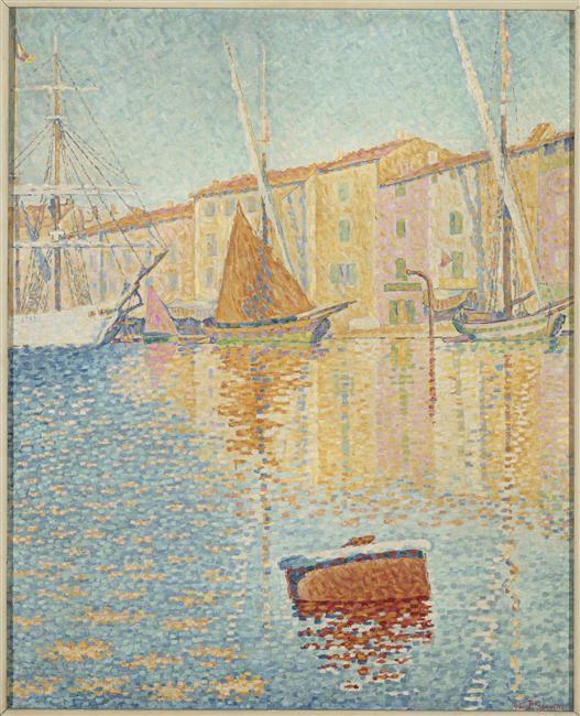 Paul Signac, où la peinture positive.