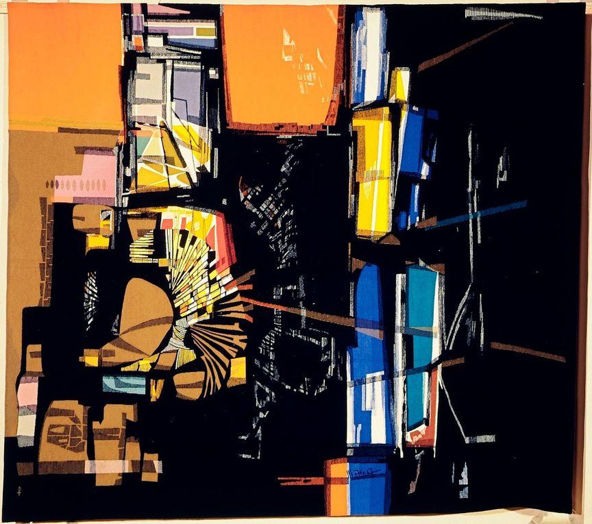 la tapisserie moderne : Mathieu Matégot