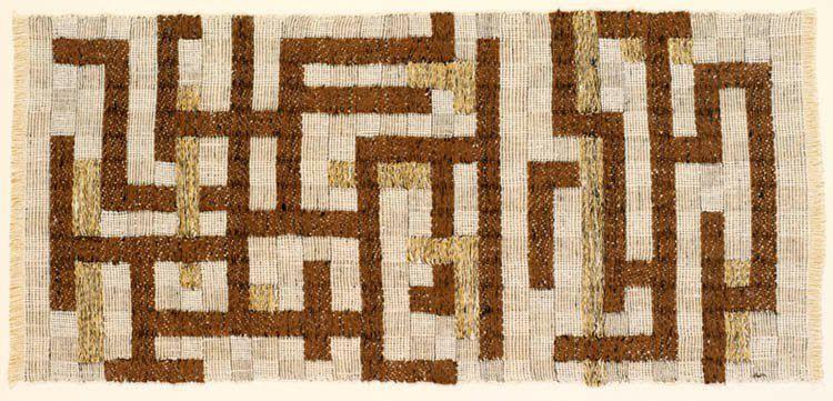 la nouvelle tapisserie: la naissance de l'art textile ou fiber art.