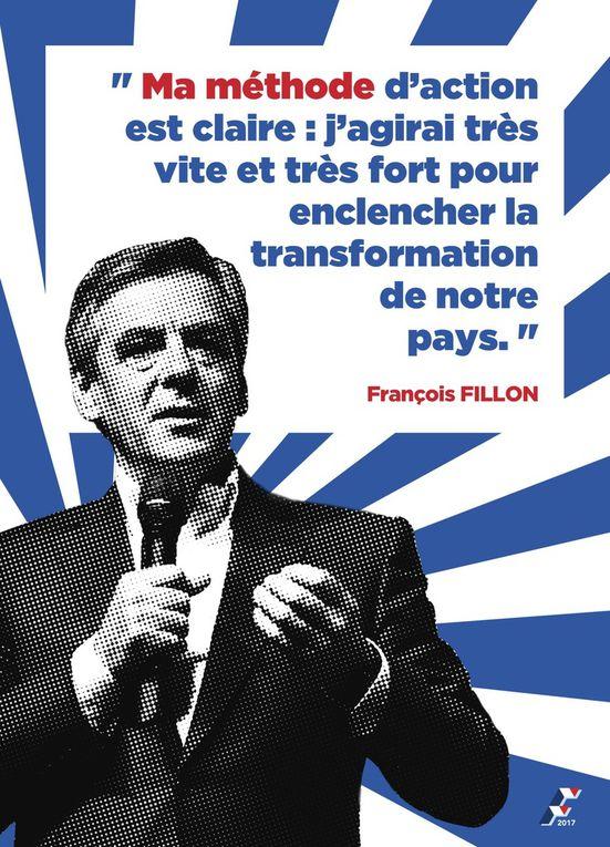 Opération soutien à Fillon au Lavandou