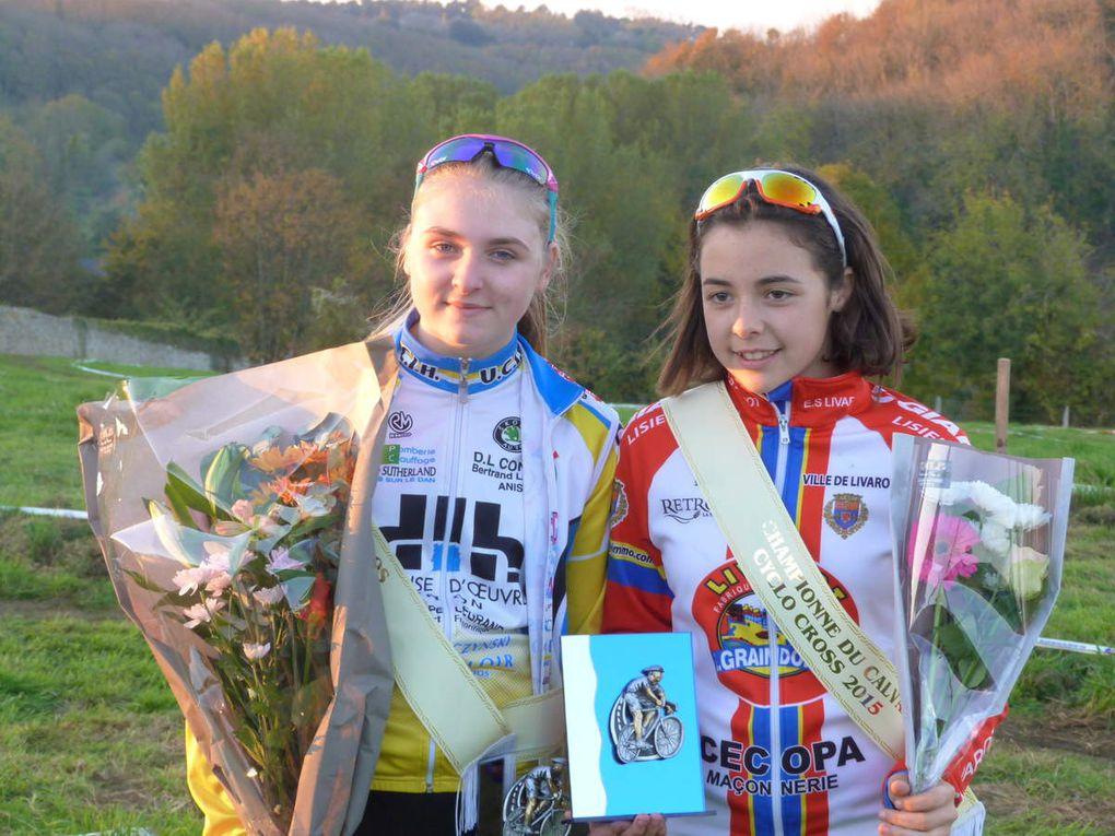 Notre championne sur route à AMFREVILLE, et en cyclo-cross....