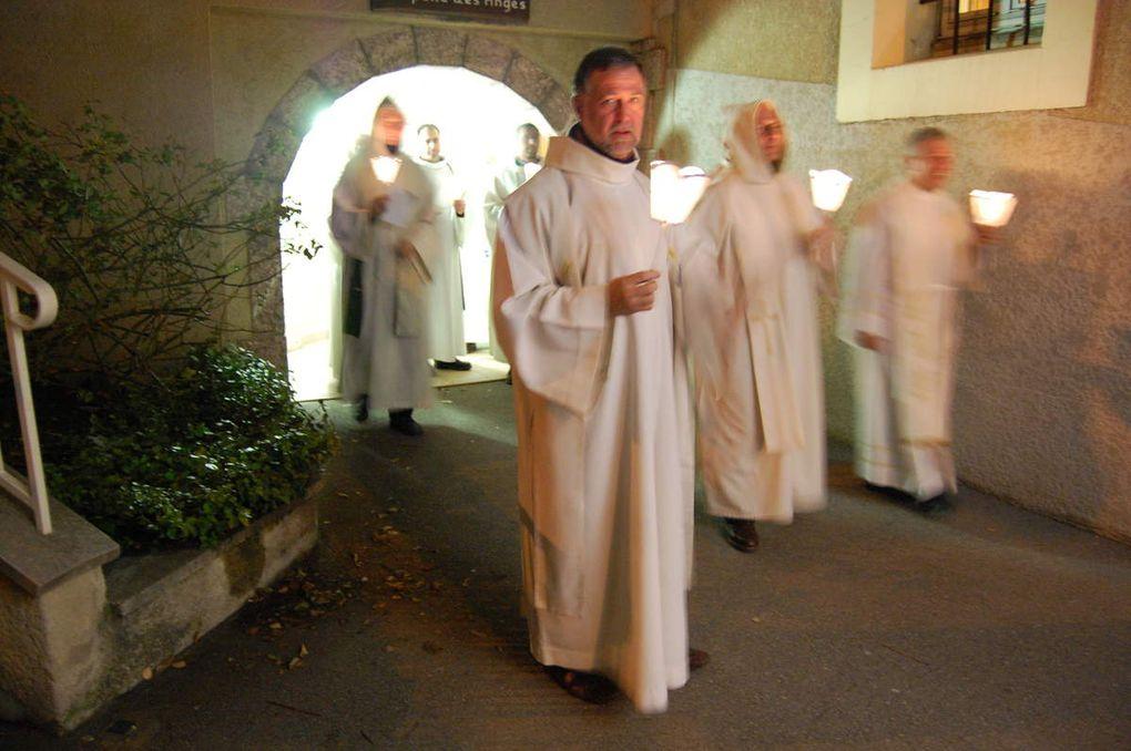 Rencontre des prêtres à Notre Dame du Laus