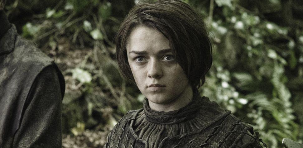 Robb, Bran, Sansa et Arya Stark
