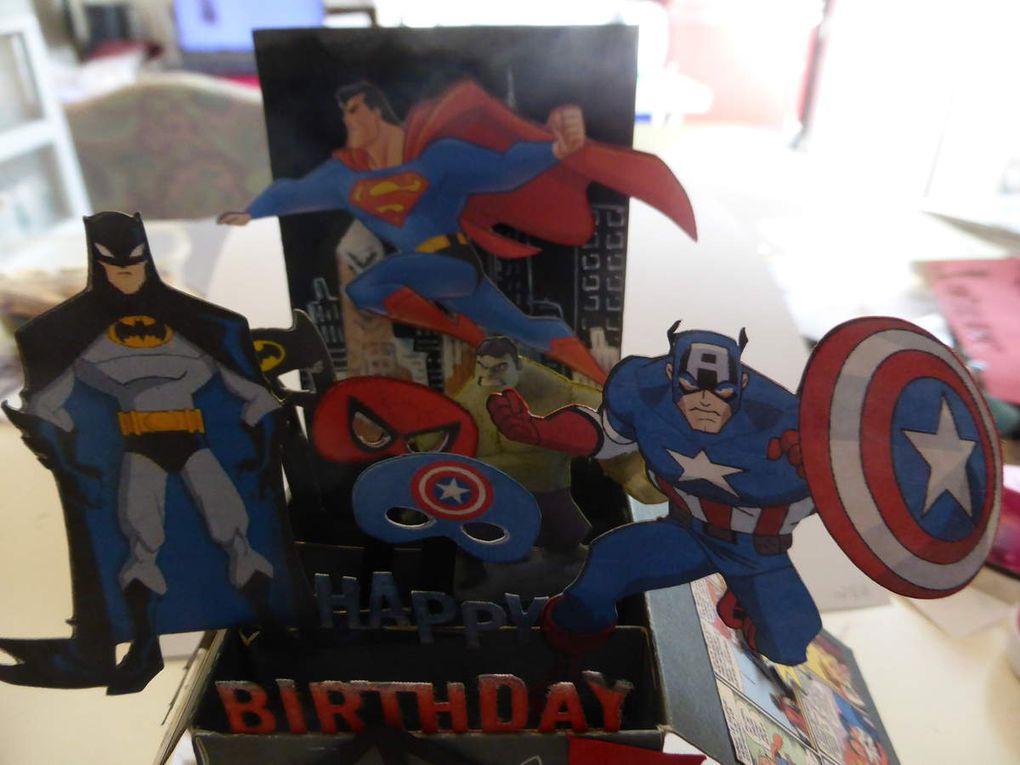 Super héros pour un super héros...