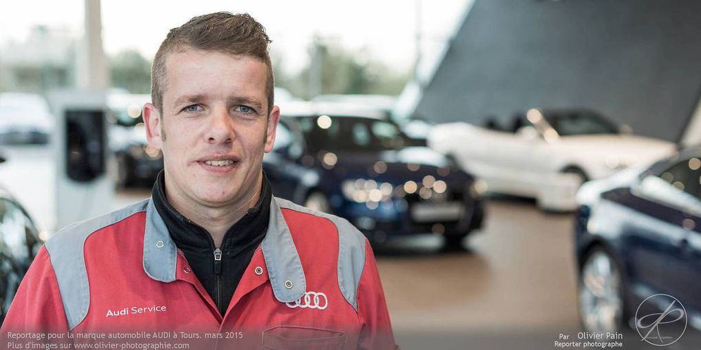 Reportage en immersion chez Audi