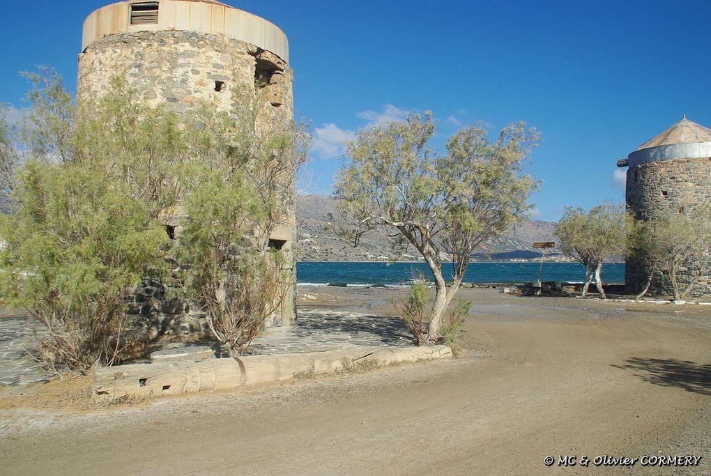 L'entrée de la Presqu'île de Spinalonga
