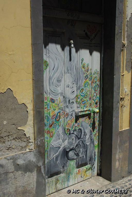 Funchal : Portes peintes ...