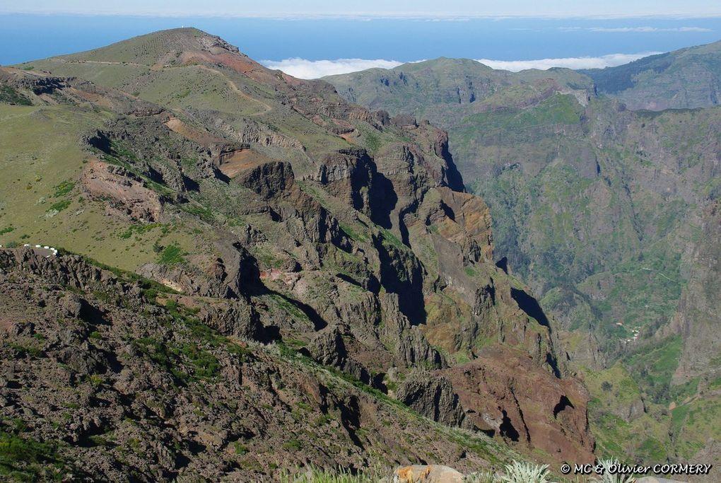 Madère : Paysages Volcaniques