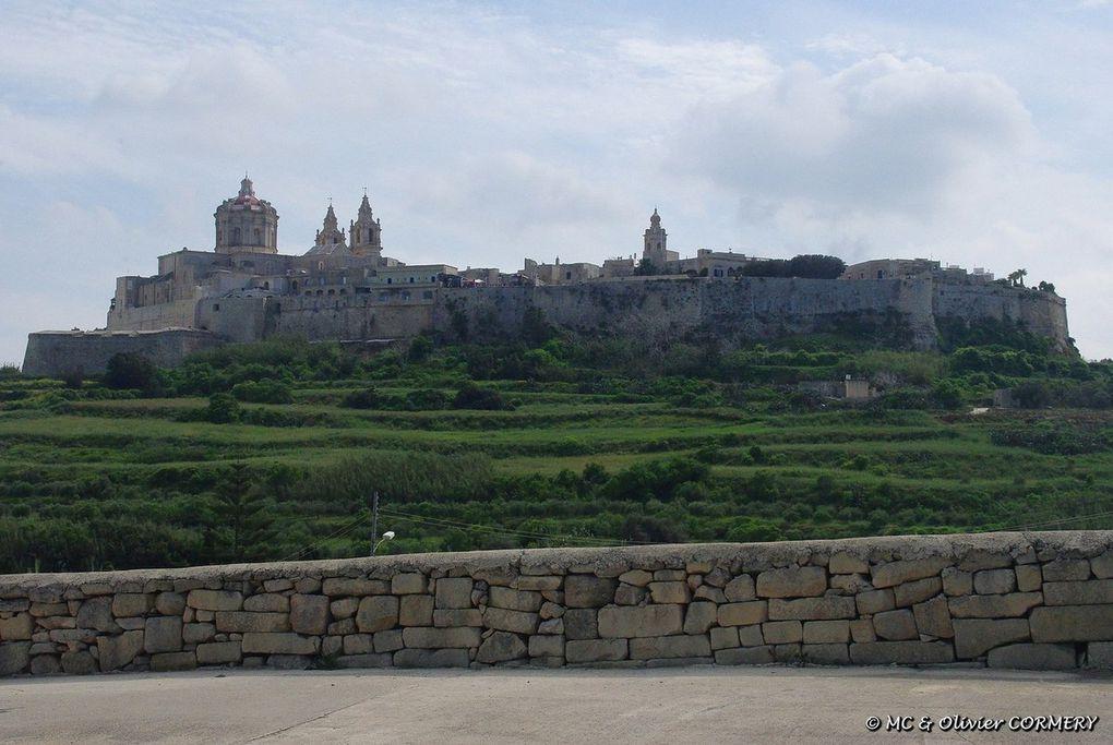 Le Nord de l'île de Malte