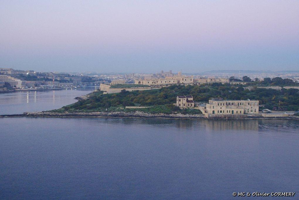 Cité de La Valette, vue depuis Sliema et l'Hôtel Fortina ****