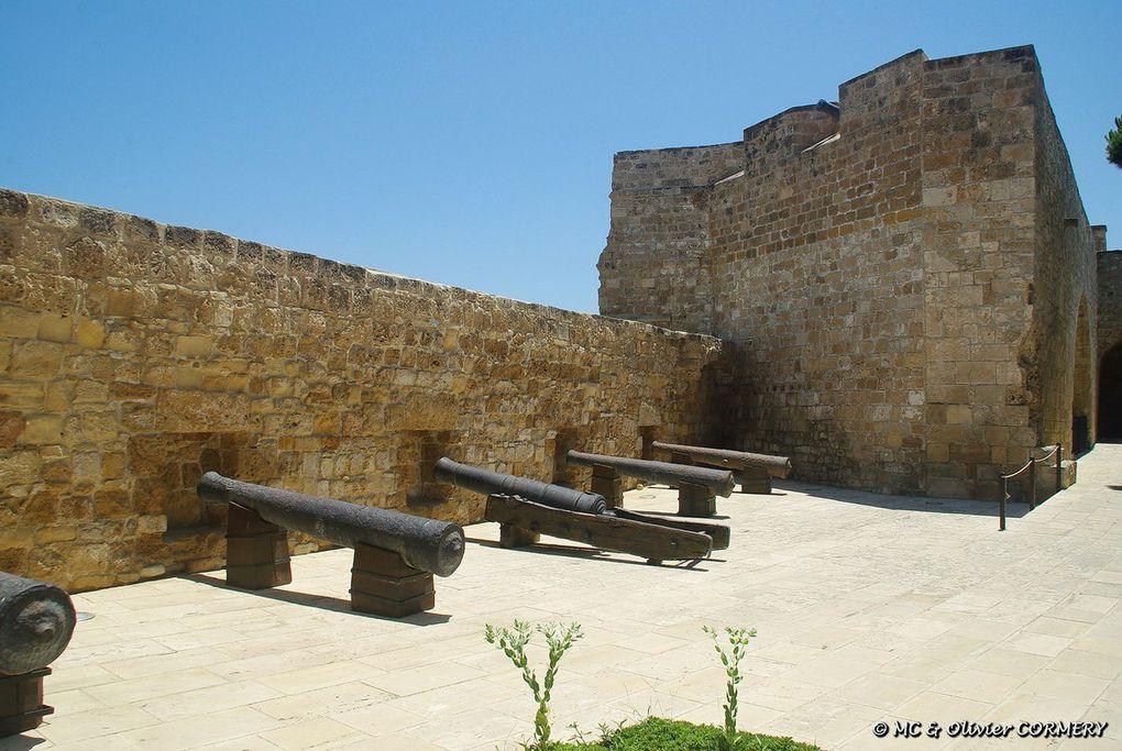 Larnaka (Basilique, Moquée et Palais)