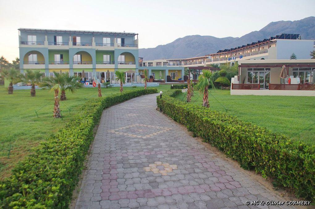 Région de Hora Sfakion et Hôtel Mythos Beach Palace de Georgioupoulis