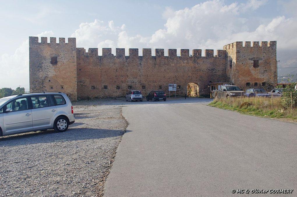 Les environs de Plakias, la Plage de Frangokastello et le Plateau d'Asfendou