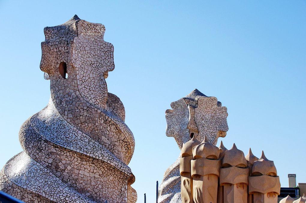 La Sagrada Familia & La Pedrera (jour & nuit)