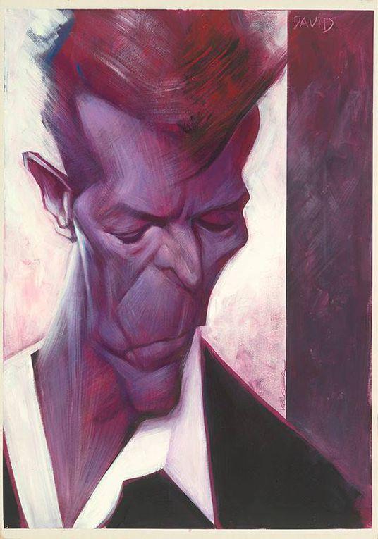 Hommages des illustrateurs à Bowie