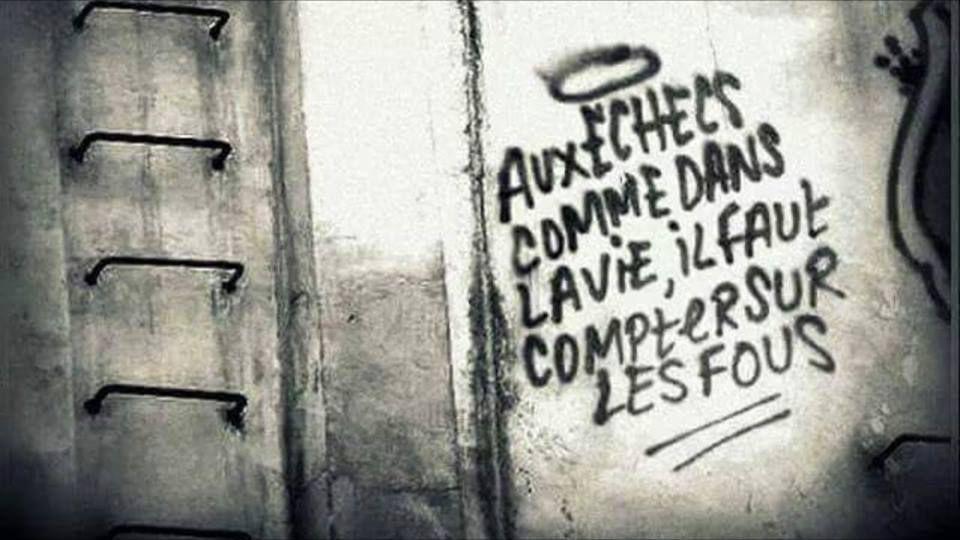 Sur les murs fleurit la révolution...