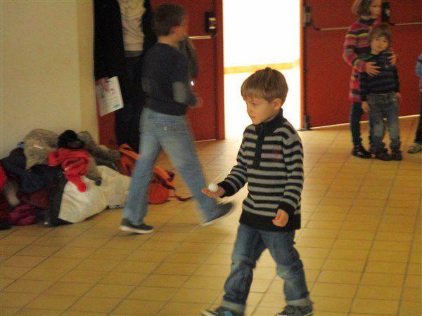 Décos de Noël, Jeux, Photophores avec les Résidents des Iris et Bûche de Noël!