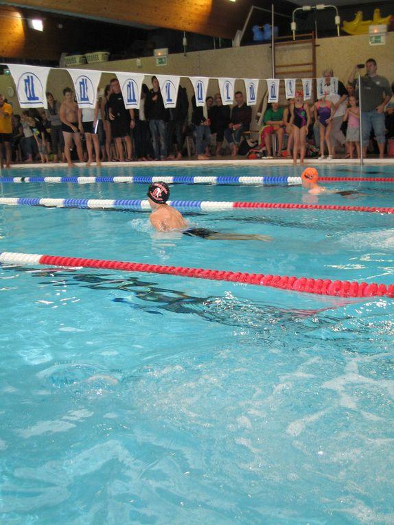 compétition UFOLEP Natation à la piscine municipal d'Avion
