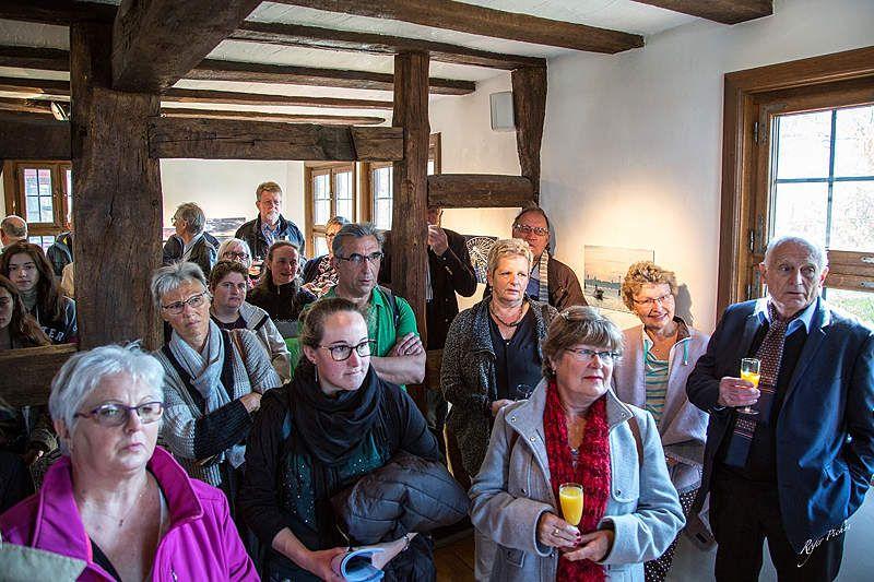 Vernissage de l'expo photo à Bad Camberg