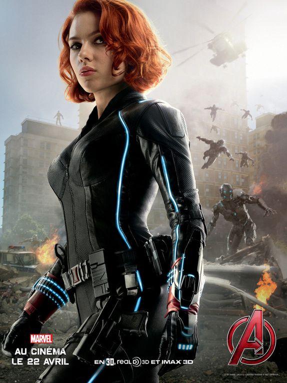 Les affiches &quot&#x3B;Avengers 2&quot&#x3B;