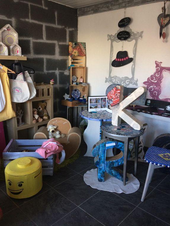 Ouverture Atelier - Boutique de créateur Lili créa carton