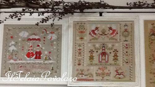 Tanto '#Natale di ''Cuore  Batticuore'' a punto croce, ... per il nostro ''open day'' di domani 23 Settembre e domenica 24 !!