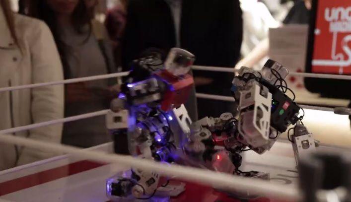 Combat de boxe, match de foot, battle de danse ou atelier création autour des robots...