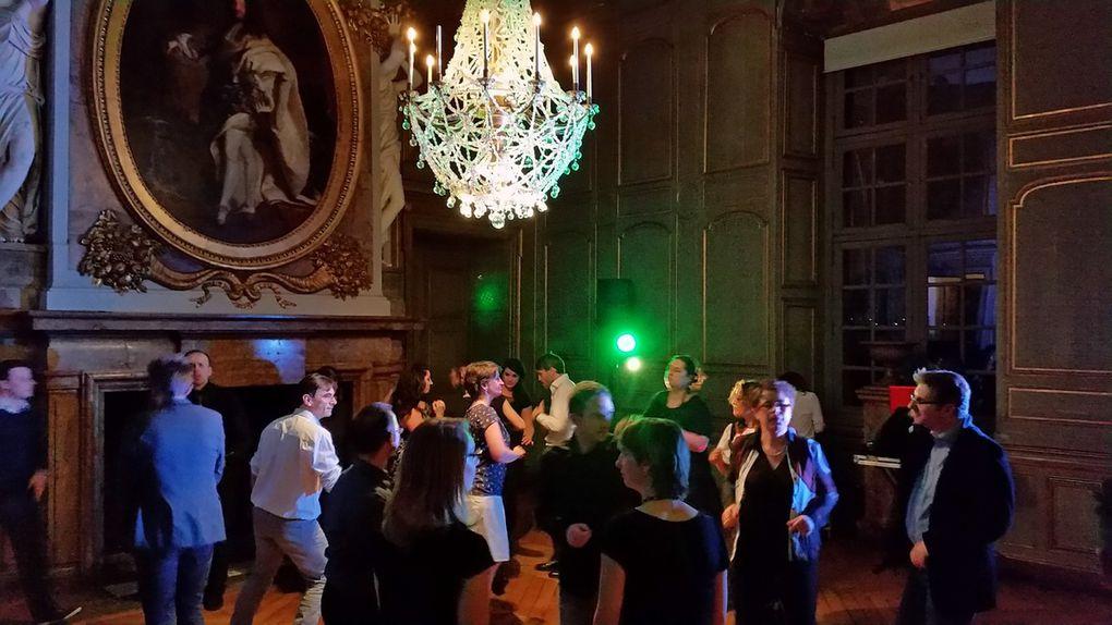fête baroque au château