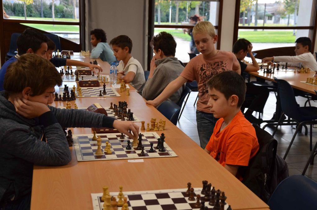Championnat de Vaucluse Echecs Jeunes