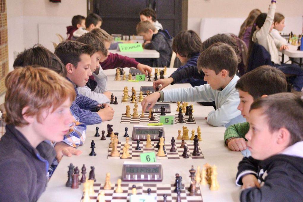 Diaporama Championnat de Vaucluse Échecs Jeunes 2016