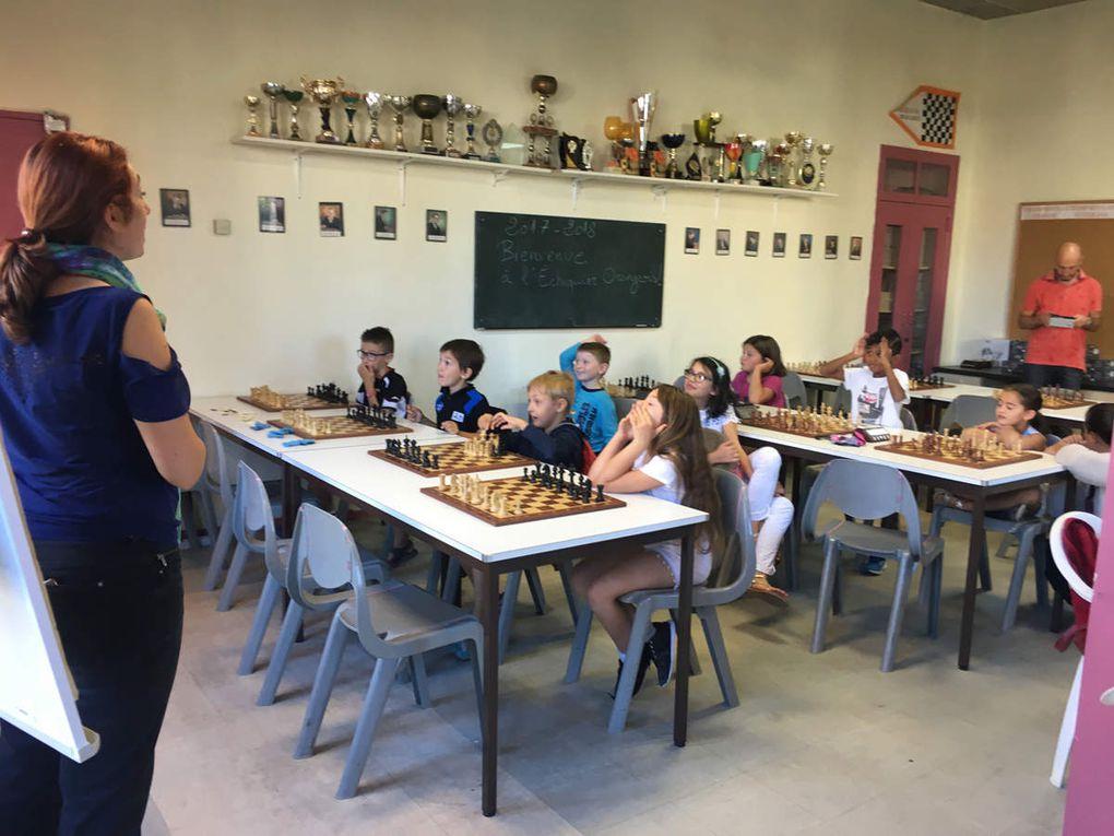 diaporama : les cours jeunes du mercredi matin
