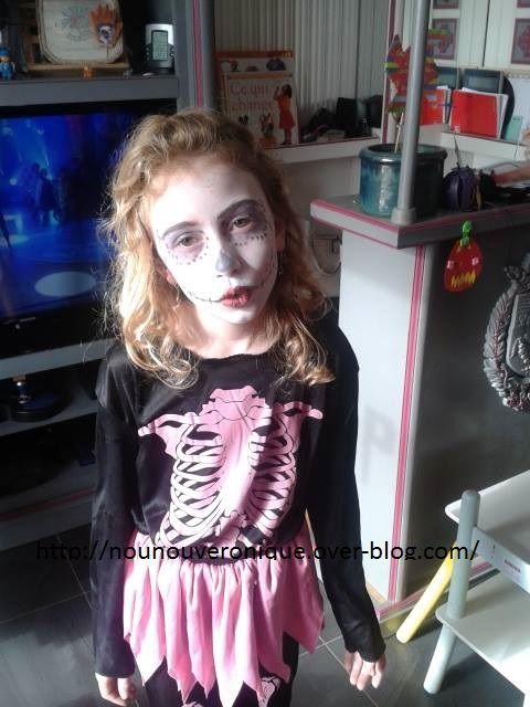 Les maquillages d'Halloween