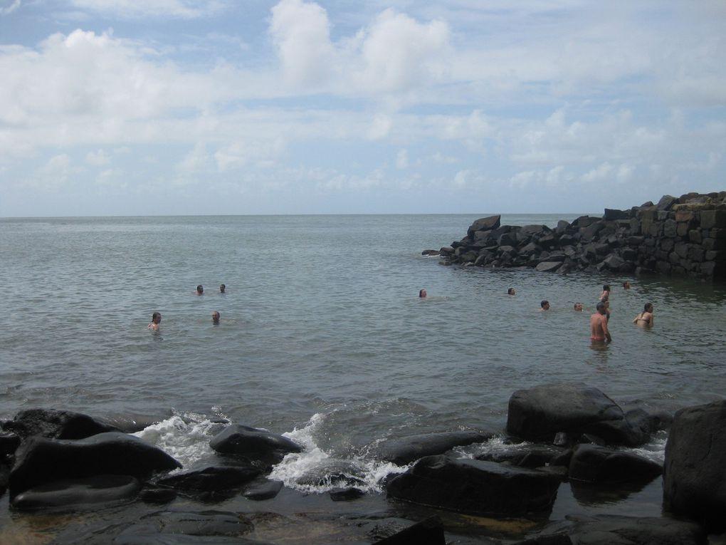 Journée détente bien méritée sur les îles du Salut.